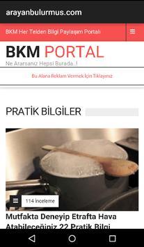 BKM Portal poster