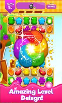 Candy Gummy Match 3 2017 apk screenshot