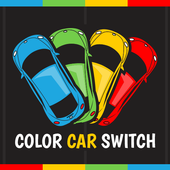 Color Car Switch icon