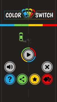 Color Car Switch poster