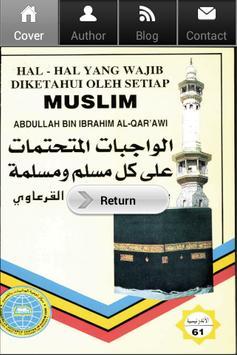 Wajib Diketahui Setiap Muslim poster