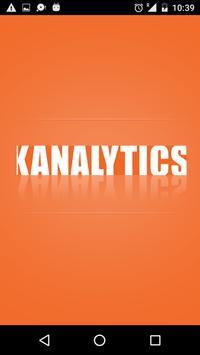 Kanalytics poster