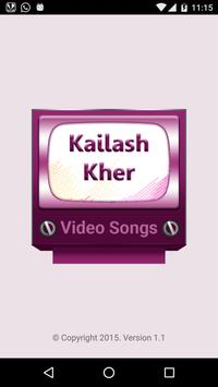 Kailash Kher Video Songs poster