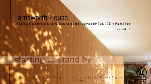 Virtual Architecture - The Farnsworth House poster
