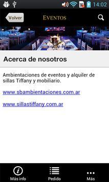 EVENTOS para Phone screenshot 5