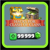 Cheat in Clash Of Clans Simulator 💎💎 icon