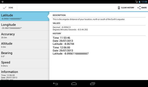 Latitude Longitude Coordinates APK Download Free Productivity - Altitude and longitude finder