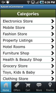 Kaizen eCommerce apk screenshot