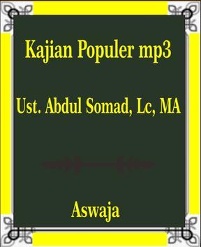 Kajian Populer mp3 Ust Abdul Somad Lc MA Ceramah poster