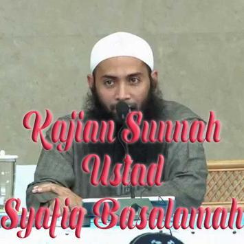 Kajian Ustadz Syafik Basalamah poster