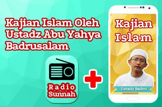 Kajian Ustadz Abu Yahya Badrusalam & Radio Sunnah poster