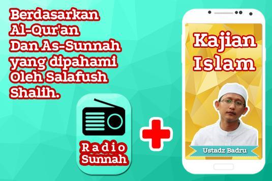 Kajian Ustadz Abu Yahya Badrusalam & Radio Sunnah apk screenshot