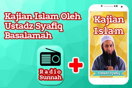 Kajian Ustadz Syafiq Basalamah dan Radio Sunnah apk screenshot