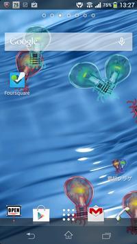 Cyber Jellyfish LiveWallpaper apk screenshot