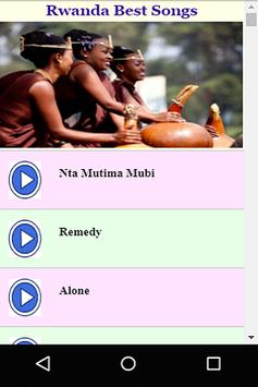 Rwanda Best Songs apk screenshot