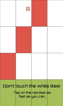 Piano Red and White Tiles apk screenshot