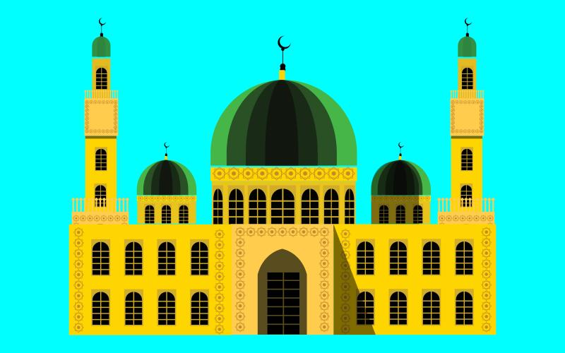 Mewarnai Gambar  Masjid  for Android APK Download