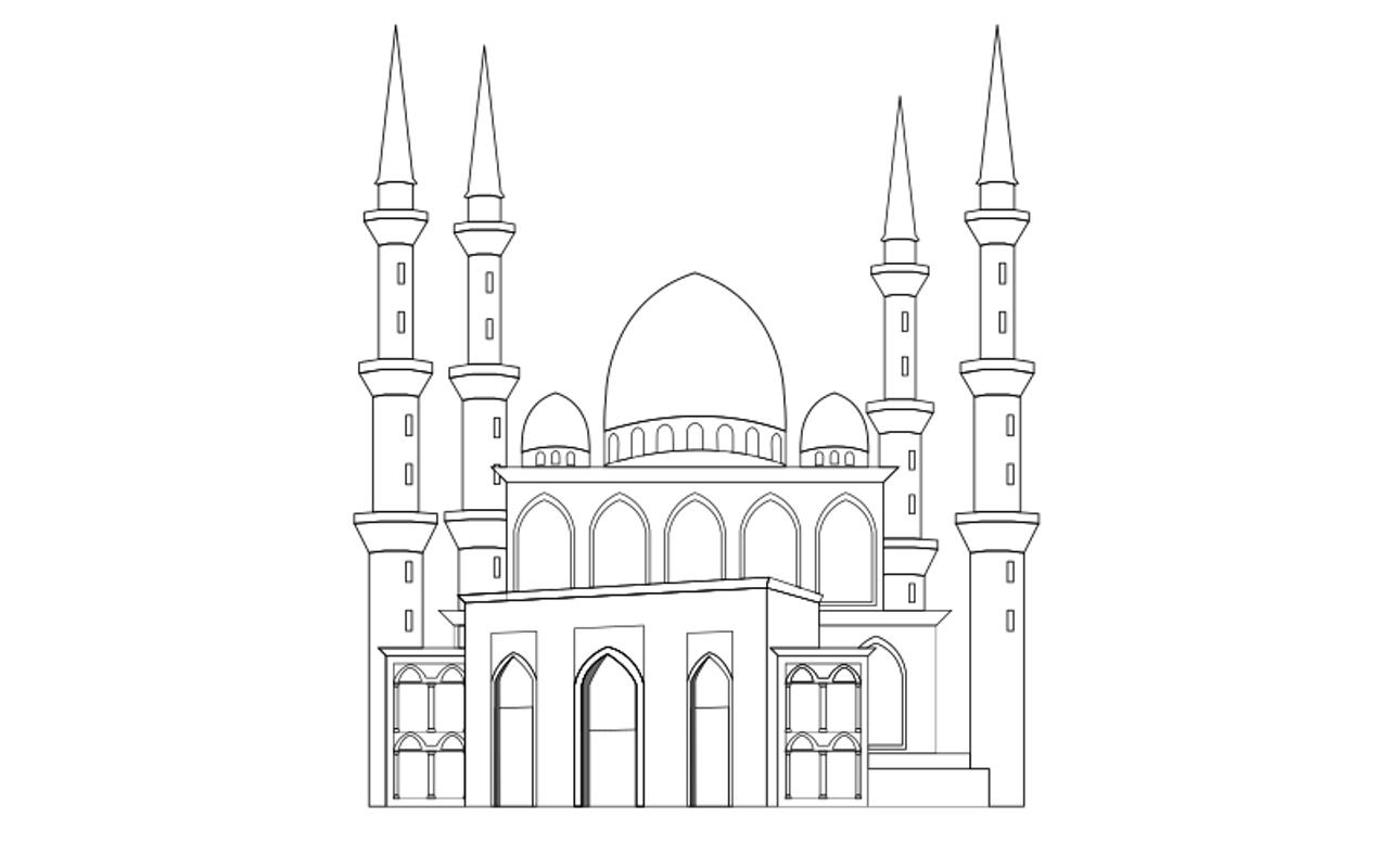Mewarnai Gambar Masjid For Android Apk Download