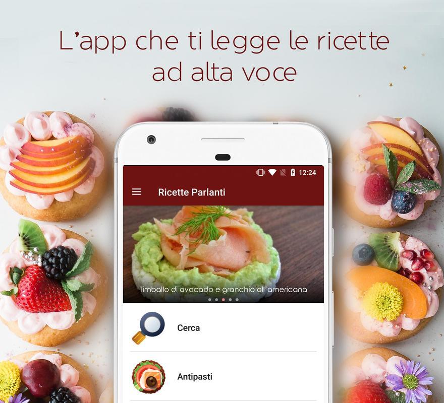 Ricette Parlanti: il tuo libro di cucina für Android - APK herunterladen