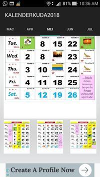 Kalender Kuda 2018 screenshot 4