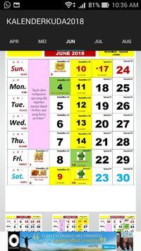 Kalender Kuda 2018 screenshot 5