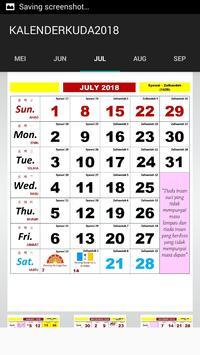 Kalender Kuda 2018 screenshot 6
