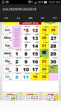Kalender Kuda 2018 screenshot 7