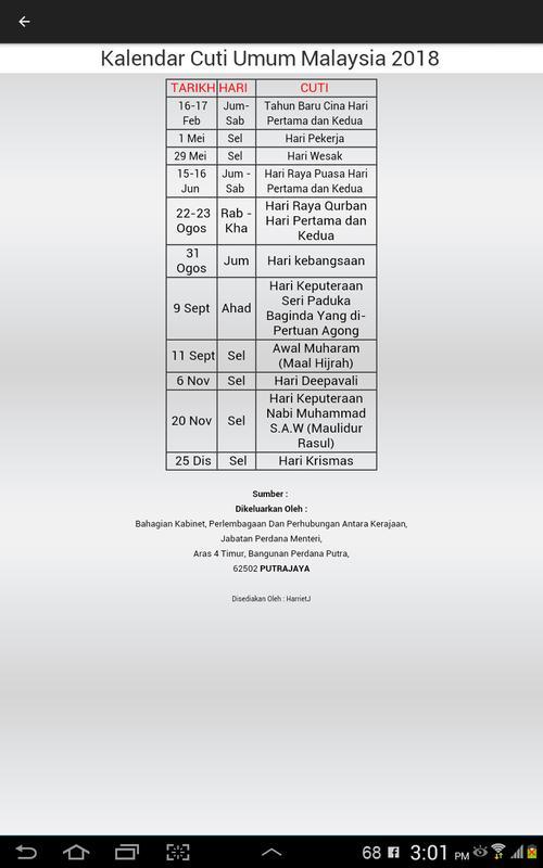 Zeer Kalender 2018 for Android - APK Download XX-61