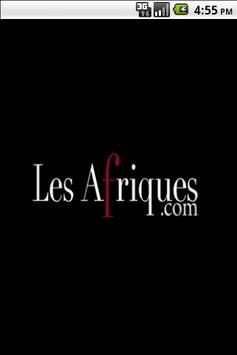 Les Afriques : africa news poster