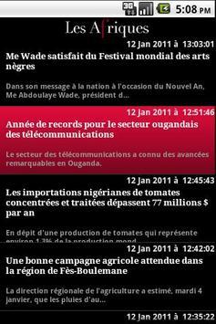 Les Afriques : africa news apk screenshot