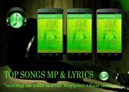 Best Song Adam Lambert poster