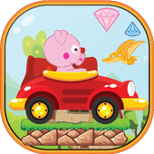 Peppie Pig Monster Escape icon