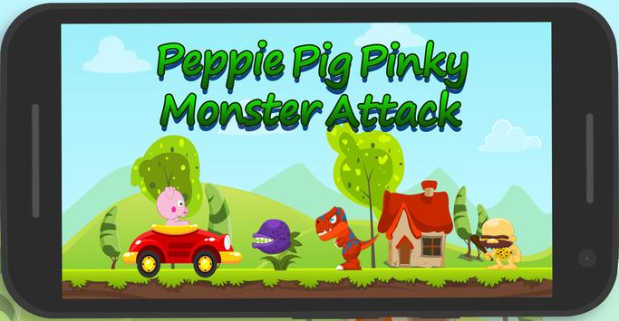 Peppie Pig Monster Escape poster