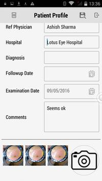 MII Ret Cam - Patient Profile screenshot 2