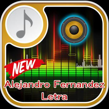 Alejandro Fernandez Letra screenshot 1
