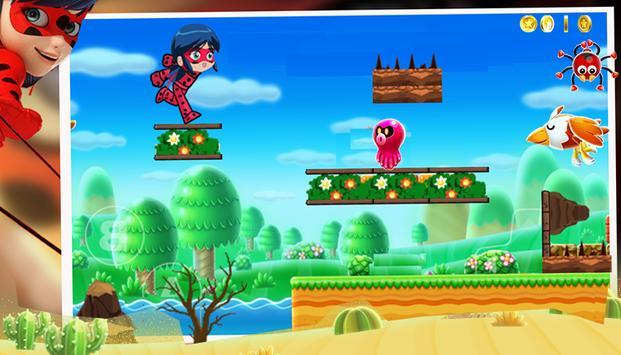 Ladybug Adventure Super World apk screenshot