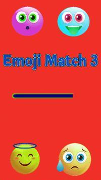 Emoji Match 3 poster