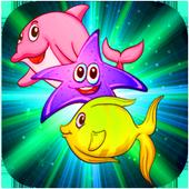 Funny Fish Match 3 icon
