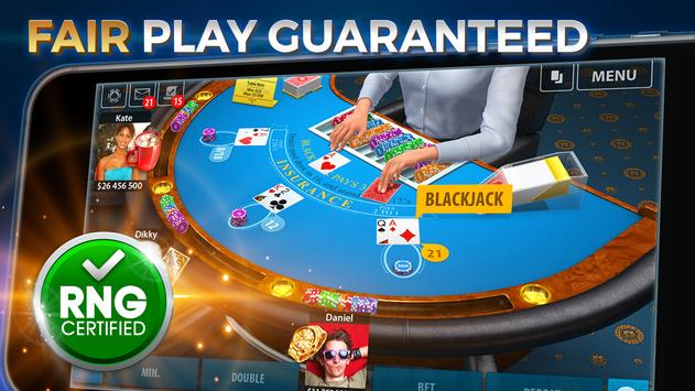 Blackjack 21: Blackjackist apk screenshot