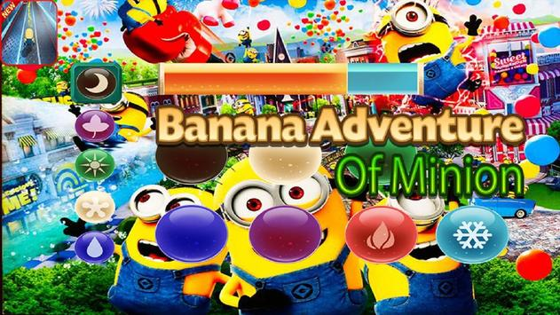 Banana Adventure Of Minion poster