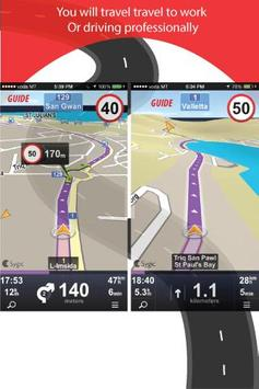 Guide Sygic GPS Navigation Map screenshot 1