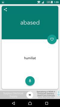 Catalan English Dictionary screenshot 1
