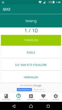 English Dutch Dictionary Offline screenshot 2