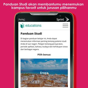 Educations - Panduan Studi Terlengkap apk screenshot