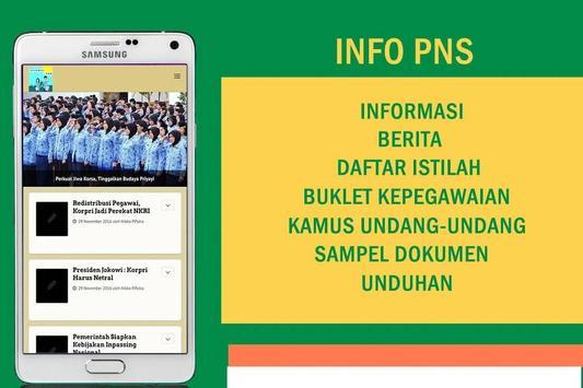 Informasi Kepegawaian poster