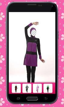 Swimwear Hijab Photo Montage poster