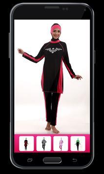 Swimwear Hijab Photo Montage screenshot 6