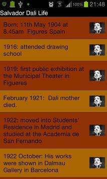Salvador Dali Experience captura de pantalla 1