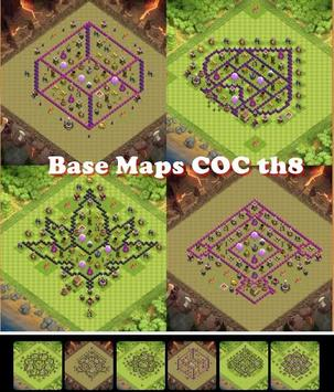 Base Maps COC th8 apk screenshot