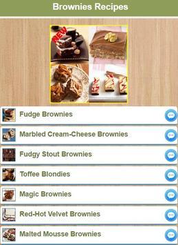Best Brownies Recipes apk screenshot